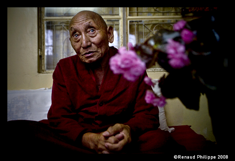 Palden Gyatso (born 1933 in Panam, Tibet) is a Tibetan Buddhist monk who was born in Tibet in 1933. During the Chinese invasion of Tibet he was arrested for protesting and spent 33 years in Chinese prisons and labor camps, where he was extensively tortured. After his release in 1992 he fled to Dharamsala, (North India) in exile. He is still a practicing monk and political activist, traveling the world publicizing the cause of Tibet.